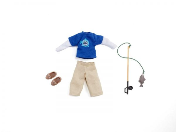TDA 005 LT06220Gone20Fishing201 preview.jpeg 600x450 - Lottie Puppe: Angler Outfit