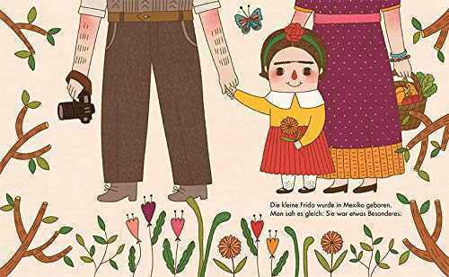 51WLOG2bIfL - Frida Kahlo, dt (Little People, Big Dreams)