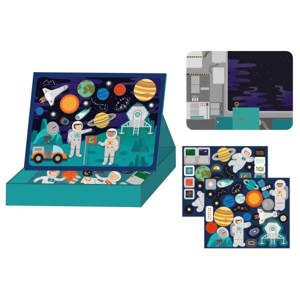 """mps space interior 1800x 600x600 - Magnetspiel """"Weltall"""""""