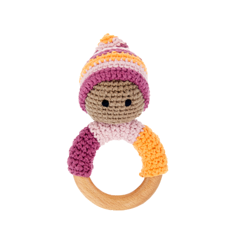 Pebble Child violett - Beißring, violett
