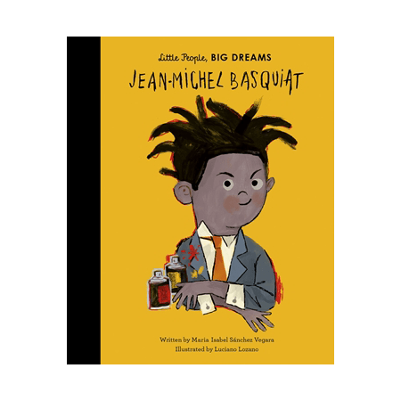 Jean Michel Basquiat - Jean-Michel Basquiat (Little People, Big Dreams)