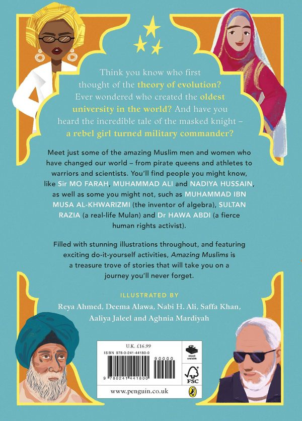 Amazing Muslims 2 600x836 - Amazing Muslims Who Changed the World (Hardcover)