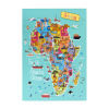 Afrika Poster  100x100 - Home